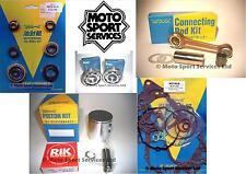 Suzuki RM 85 02-15 Mitaka Engine Rebuild Kit Rod Piston C Mains Gasket Seal