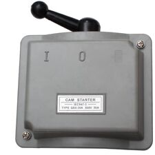 30A 3 Phasen Hauptschalter 230v 380V Drehschalter Trennschalter Starkstrom