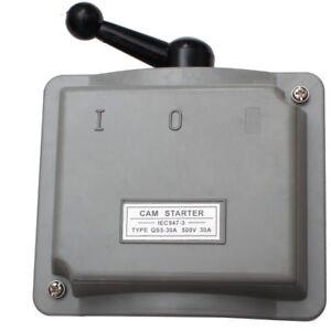 3 Phasen 30A Hauptschalter Trennschalter Starkstrom Schalter Hauptstomschalter