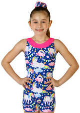 NEW! Enchanting Unicorn Gymnastics or Dance Biketard by Snowflake Designs