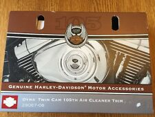 NEW Harley-Davidson 105th Anniversary Dyna Twin Cam Air Cleaner Trim 29087-08