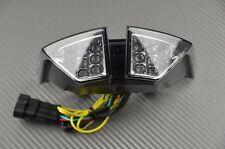 Feu arrière LED fumé clignotant intégré tail light MV Agusta Brutale 1090 RR