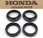 New Genuine Honda Front Fork Seal Dust Cover Set Kit Many Bikes (See Notes) Z132