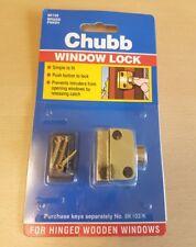Chubb Window Lock Brass 8K102