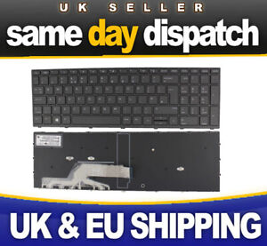 New Hp Pro Book 450 G5 455 G5 470 G5 UK Laptop Keyboard 9Z.NEFSQ.00U NSK-XK0SQ