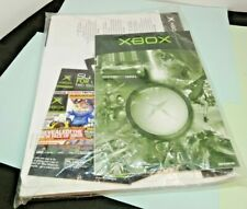 Microsoft Original Xbox User Manuals Sealed VINTAGE