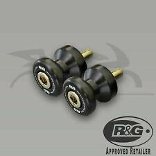 Yamaha YZF-R6 2013 R&G Racing Black M6 Cotton Reels Paddock Stand Bobbins