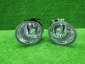 JDM 2004 Subaru Forester SG5 STI Fog Lights Lamps Set Pair OEM