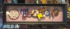 Disneyland Diamond Celebration Mickey's Toontown Letter Shadow Box Dave Avanzino