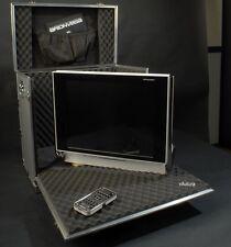 TV LCD DVD +FLY CASE BRIONVEGA ALPHA DVB-T COMETTI RE-DESIGN ZANUSO ALGOL NUOVO