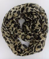 "Women's Fashion Stylish Leopard Animal Print Infinity Loop Scarf ( 37"" *70 "")"