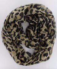 "Women's Fashion Stylish Leopard Animal Print Infinity Cowl Scarf ( 37"" *70 "")"