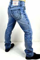 True Religion Men's Ricky Relaxed Straight Super T Jeans - 102467