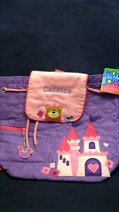"""""""CADENCE """" NAME Stephen Joseph QUILTED BACKPACK NWT PURPLE PALACE"""