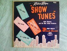 RICHARD ROGERS 45 EP SHOW TUNES record  VERY Good cond unique Red vinyl