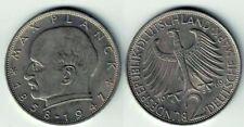 Münze 2 Deutsche Mark (2 DEM) Max Planck 1969 F  BRD KM# 116, J# 392, Schön# 115