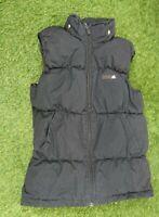 Adidas Boys 11-12 Yrs Black Padded Bodywarmer Hood Missing