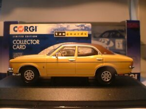 WOW EXTREMELY RARE VANGUARDS 1/43 1975 FORD CORTINA 2000E AUTOMATIC MK 3 RHD NLA