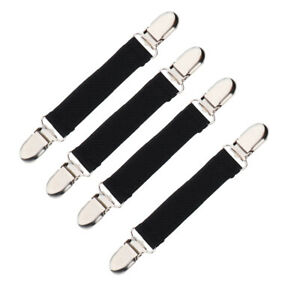 4 Packs Kids Stretchy Glove Mitten Clip Cardigan Clasp Grip Keeper Bands