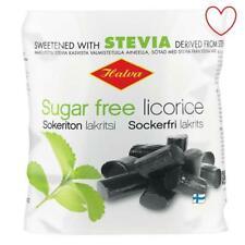 Sans Sucre Réglisse doux et Sucré Stevia 90 G Pack Halva Finlandais Réglisse