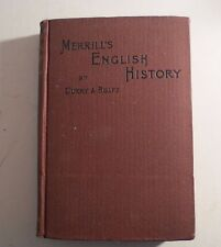 Merrill's English History Curry & Rolfe 1904
