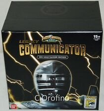 SDCC 2017 Comic Con Bandai Legacy Communicator Zeo Gold Ranger Edition (INT SHP)