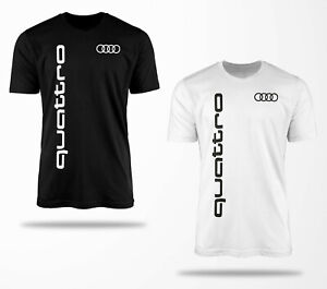 Audi T Shirt 0070 Audi T-Shirt Quattro Fanshirt Geschenk Kult Tuning