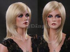 Female Wig Mannequin Head Hair Long Wig #WG-ZL349A-613E
