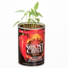 Grow Your Own GHOST CHILLI World's Hottest Chilli Pepper Office Gift Seeds Plant