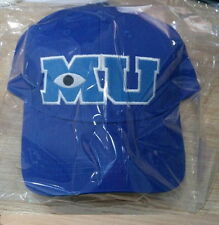 2016 Hot Movie Monsters University Pixar Mike Blue Sulley MU Hat Baseball Caps