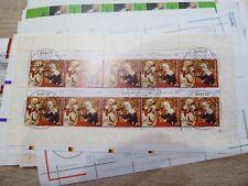 BRD 2003 - 2009  Kleinbogen Posten 80 Stck. teils gest. Nominale 122€  (F31-099)
