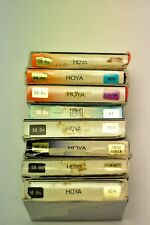 8-(eight)Hoya 58mm assorted filters as shown. New.