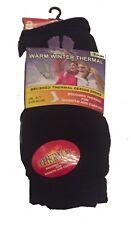 Pack Of 3 Warm Winter Thermal Socks Outdoor Work Boot Work Socks Slipper Gripper