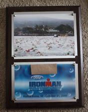 "2006 Ironman Hawaii World Championship Triathlon 12""X9"" Award Director Plaque"