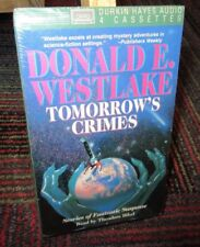 TOMORROW'S CRIMES 4-CASSETTE AUDIOBOOK BY DONALD WESTLAKE, 8 STORIES, NEW SEALED