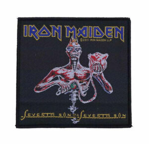 IRON MAIDEN - Seventh Son of a Seventh Son - Official Woven Patch
