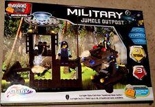 Block Tech Militaire Jungle Outpost Blocs Jeu Set 5 ans +