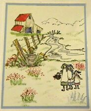 3 SISTERS U get photo #2 RETIRED L@@K@examples ART IMPRESSIONS RUBBER STAMP