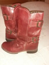 Ladies London Fly RED Boots Size 8/41 - BRAND NEW