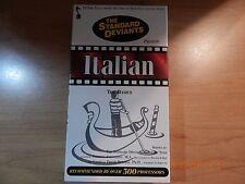 THE STANDARD DEVIANTS ITALIAN THE BASICS LEARN ITALIAN EDUCATIONAL VHS VIDEO