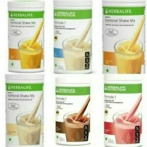 HERBALIFE Formula 1 Shake for Weight Control 500 gm ( Fast Delivery) All Flavour