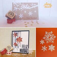 1Set Snowflake Die Cut Stencil DIY Scrapbooking Paper Craft Embossing Decor Gift