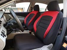 Sitzbezüge Schonbezüge für VW Jetta schwarz-rot V960176 Vordersitze