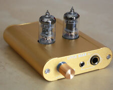 Little bear P2-1 GOLD HiFi Vacuum valve tube headphone amplifier amp preamp