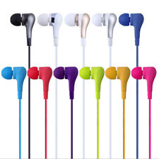 Earphone & earbuds with mic for iPhone/Ipad/Android phones (random colours)