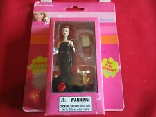 """Matel 4"""" Barbie Keychain, Item #732-0. NEW. Age 6 Up. 2002.Solo In The Spotlight"""