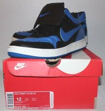 Nike Air NSW Tiempo '94 Mid QS Royal Blue Black Sneakers Mens Size 12 Brand New