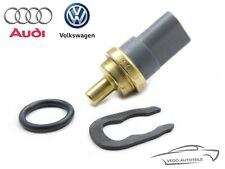 ORIGINAL VAG Kühlmitteltemperatur Sensor + Feder VW Audi Seat Skoda 06A919501A