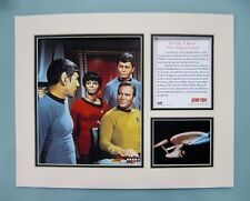 "Star Trek Original Series 11"" x 14"" MATTED Lithograph Print by OSP"