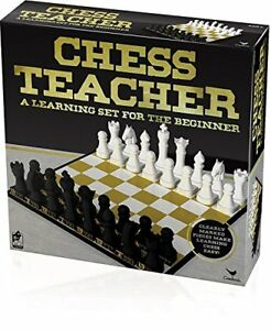 Chess Teacher Learning Set for Beginner Player Teach Position Game Explain Child